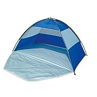 Beach Tent Blue UPF 40 Sun Protection Shelter