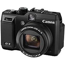 "Canon PowerShot G1X - Cámara compacta de 14.3 MP (pantalla de 3"", zoom óptico 4x, estabilizador óptico), negro"