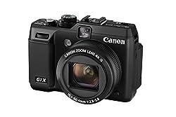 Canon PowerShot G1 X Digitalkamera (14,3 MP, 4-Fach Opt. Zoom, 7,6cm (3 Zoll) Display, bildstabilisiert) schwarz
