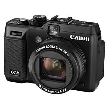 Canon PowerShot G1X - Cámara compacta de 14.3 MP (Pantalla de 3 ...