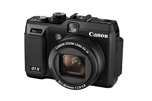 Canon PowerShot G1 X Digitalkamera (14,3 MP, 4-Fach Opt. Zoom, 7,6cm (3 Zoll) Display, bildstabilisiert) schwarz - G1-snap