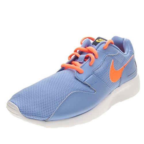 Nike Unisex-Kinder Kaishi Sneaker Blau Hellblau/Orange, 38 EU