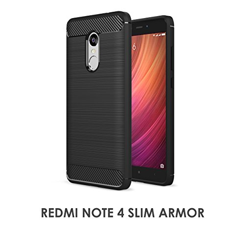 Tech Sense Lab Redmi Note 4 Armaguard Slim Armor Case...