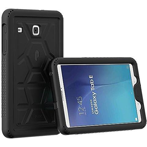 Étui Galaxy Tab E 9,6 - Poetic [Série Turtle Skin] Étui Galaxy Tab E 9,6 (Custodia Protettiva In Gomma)