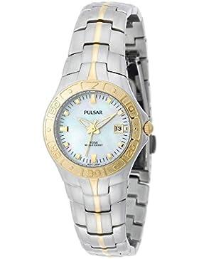 Fossil Damen-Armbanduhr Cecile Analog Quarz One Size, rosé, rosé