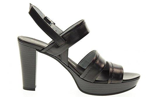 NERO GIARDINI scarpe donna sandali P717550D/100 Nero