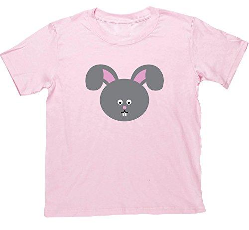 Haare Youth T-shirt (Hippowarehouse Mädchen T-Shirt Gr. 12-13 Jahre, Rosa - Pink)