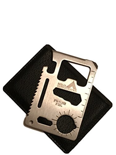 ninja-outdoorsman-11-in-1-stainless-steel-credit-card-pocket-sized-survival-multi-tool-single-by-nin