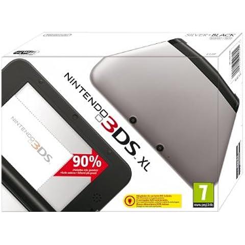Nintendo 3DS - Consola XL, Color Negro Y Plata