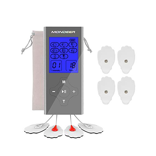 Mondeer Tens Unit FDA Cleared Rechargeable 2 Salida