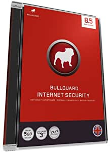 BullGuard Internet Security version 8.5, 3 user license, 1 year subscription (PC)