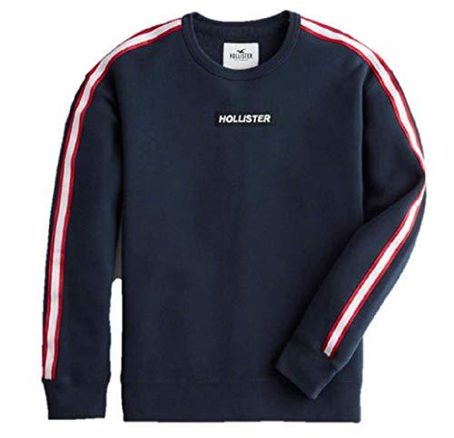 58f568a2b Hollister Men s Patterned Icon Hoodie Fleece Sweatshirt Hoody