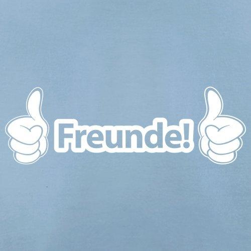 "Freunde ""Daumen hoch"" - Herren T-Shirt - 13 Farben Himmelblau"