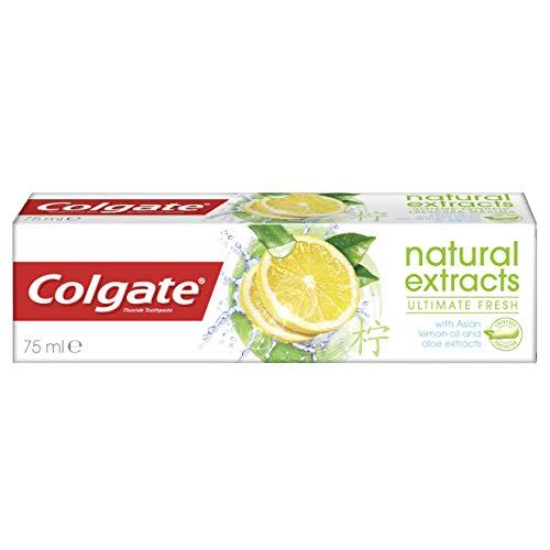 Colgate Zahnpasta Natural Extracts Ultimate Fresh, 75 ml - Zitrone Zahnpasta