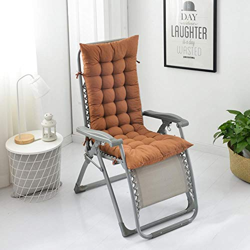Leidenschaftliche Türkei 2pcs enipate Liegestuhl Sonnenliege Liege weichen Kissen Stuhl dekorative Kissen für Betten Sofa nach Hause Schlafzimmer Sofa dicken Kissen, Kaffee, 122x48x8 cm (Lila Dekorative Bett Kissen)