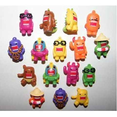 Domo Figure Charms 16 Colored Figures by Domofigures