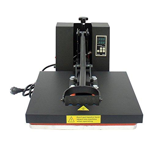 Homcom® Transferpresse Textilpresse T-Shirtpresse Textildruck Schwenkbar 38x38cm - 6