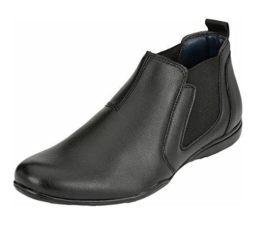 Aadil Men's Black Chelsea Boots - 8 UK