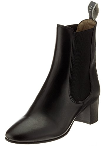 Marc O'Polo Mid Heel, Stivali Chelsea Donna nero (nero)