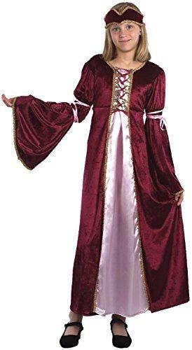 Renaissance Maiden Kind Kostüm - Fancy Me Mädchen Renaissance Prinzessin Maiden