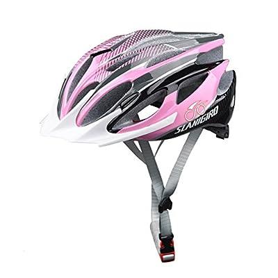 SLANIGIRO Adult Cycling Bike Helmet 23 Vents CE CPSC Certified Reflective Stripe LED Recharge Adjustable Dial For Women Men by SLANIGIRO