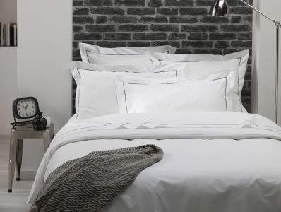 ELENA PARIS - Taie d'oreiller 50x75 cm - Blanc