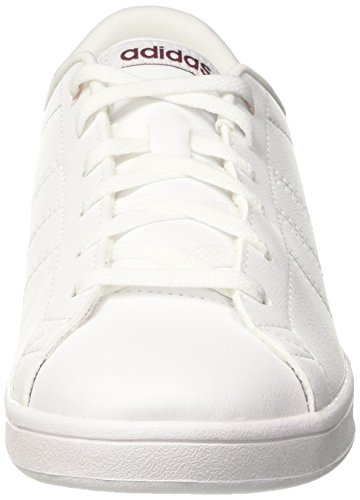 buy popular d3863 95fbd Adidas Advantage Cl Qt W, Chaussure De Ginnastica Basse Donna Bianco  (chaussures Blanc ...