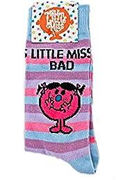 Chaussettes Monsieur Madame pour femme - Taille 38-41 - Little Miss Bad Madame Farceuse