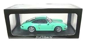 Autoart - 77892 - Voiture Miniature - Porshe 911 / 964 RS - Vert - Echelle 1/18