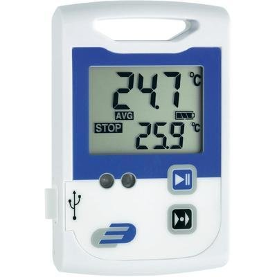 DOSTMANN Electronic LOG100CRYO Recorder (Datenlogger) Temperatur-Speichermodule 2x 60000-30bis + 70°C 0.1°C