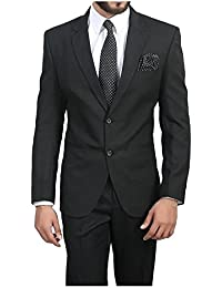 Alvi Qmar Mens Blazer/Coat Perfect Slim Fit for Causual/Party/Formal Wear (Multicolor)