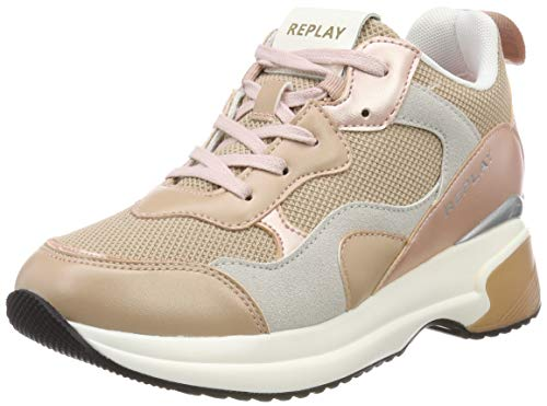 Replay Damen Theme Sneaker Beige (Nude 1738) 38 EU