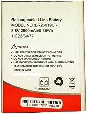 G n G Battery Model BR26019UR for Intex Aqua Trend Lite 2600 mAh (intTRENDlite)