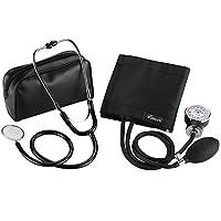 eSecure - Aneroid Sphygmomanometer Blood Pressure Monitor Meter + Free Stethoscope