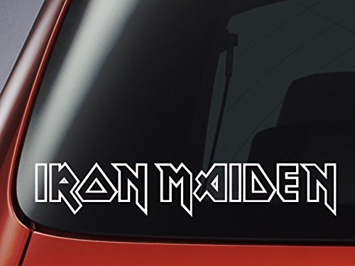Aufkleber Iron Maiden,Vinyl, fürAuto, Fenster, Wand, Laptop -