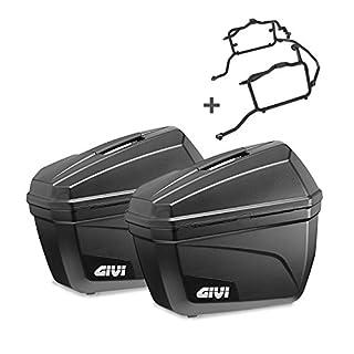 Seitenkoffer Set Triumph Bonneville T120 2016 Givi Monokey E22N schwarz 22 Liter