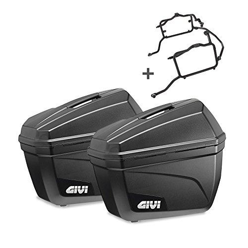 Seitenkoffer Set KTM 1090 Adventure/ R 2017 Givi Monokey E22N schwarz 22 Liter