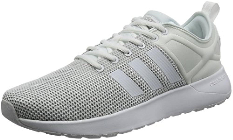 adidas Cloudfoam Super Racer - Zapatillas Deportivas para Hombre, Blanco - (FTWBLA/FTWBLA/Onicla) 41 1/3