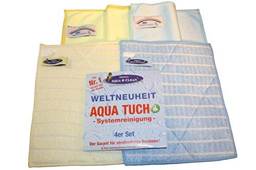 AQUA CLEAN Aqua Tuch Systemreinigung 4er Set
