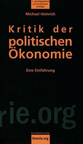 Kritik der politischen Ökonomie: Eine Einführung (Theorie.org)