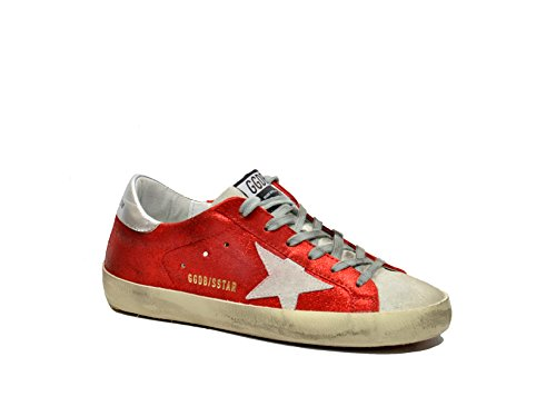 Golden Goose Donna May Oro Red