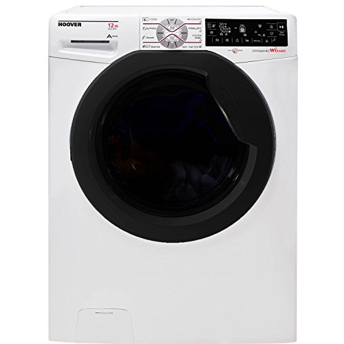 Hoover Wizard DWFT412AH3/1-80 12kg 1400 Spin Wifi Washing Machine in White Best Price and Cheapest