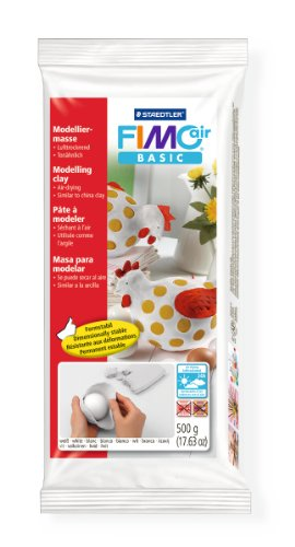 staedtler-fimo-air-basic-air-drying-modelling-clay-500-g-white