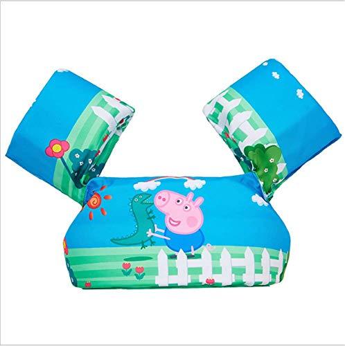 FDGT Pink Piggy Kinder Schwimmen Arm-Kreis Kleindner-Babybad-Schwimmanlage Schwimmen Kreislase Mu Sleeves Schwimmweste