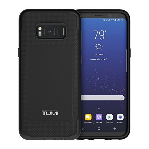 Best tumi backpack in India 2020 TUMI Leather Co-Mold Case for Samsung Galaxy S8+ - Black Image 2