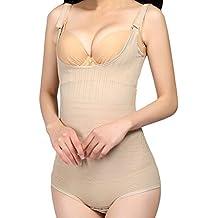 Avitalk - Body Faja Modeladora Reductora sin costuras para Mujeres - Talla L XL XXL - color de piel negro