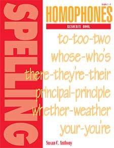 homophones-resource-book