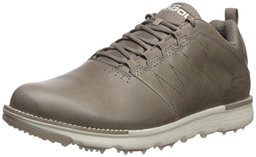Skechers Performance Men's Go Elite 3 Golf Shoe, Charcoal/Red