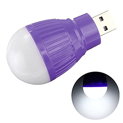 Bluelover Portable 5W USB LED Ball Desk Reading Light Camp
