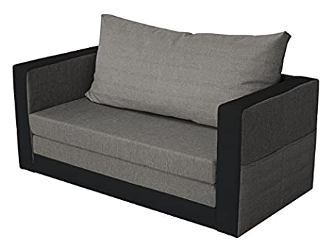 Sofa Finezja mit Schlaffunktion, Schlafsofa für kleine Räume, Schlafcouch, 2-er